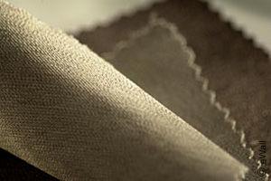 eWall Gewebe enthält Silberfäden