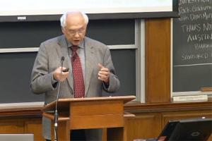 Dr. Franz Adlkofer an der Harvard Universität