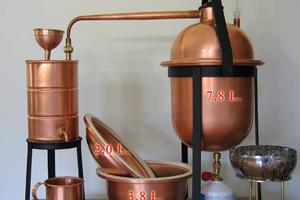 Wasserdampf-Destillator Destille DELUXE, Schmickl