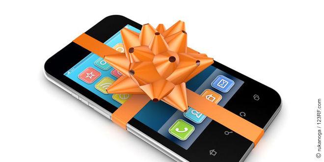 Smartphone als Geschenk (©123rf.com)