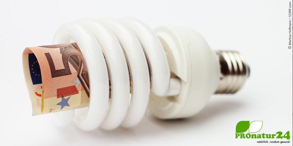 Energiesparlampe mittels Gesetz finanziert (©123rf.com)