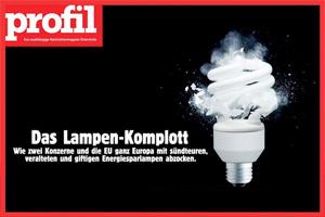 """Das Lampen-Komplott"" im profil 37/2012"