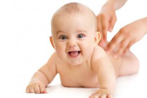 Ostheopathie beim Baby wirkt