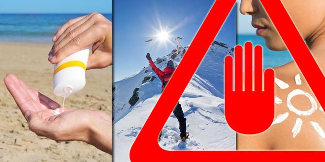 Sonnencreme sollte vor Hautkrebs schützen. Geschieht etwa das Gegenteil? (©123rf.com)