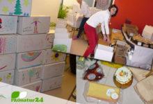 Geschenke mit Genuss zu Weihnachten an Arme und Bedürftige in Bregenz