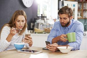 Das Smartphone sorgt für Einsamkeit