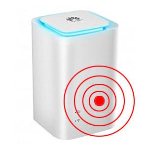 Cube's (Symbolfoto) mit mobilem Internet sind bequem und produzieren viel Elektrosmog ©Huawei