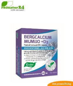 Bergcalcium Mumijo D3 von Evalar bei PROnatur24