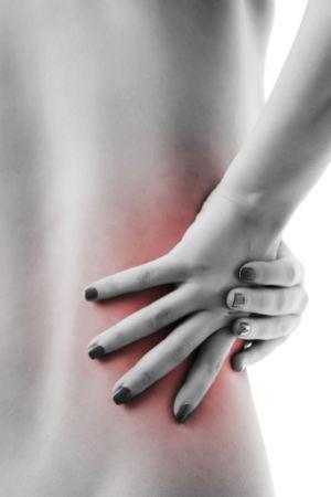 Rückenschmerzen und Verspannungen